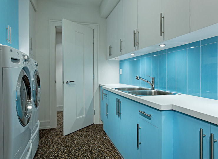 Laundry Room 根據 Douglas Design Studio 現代風