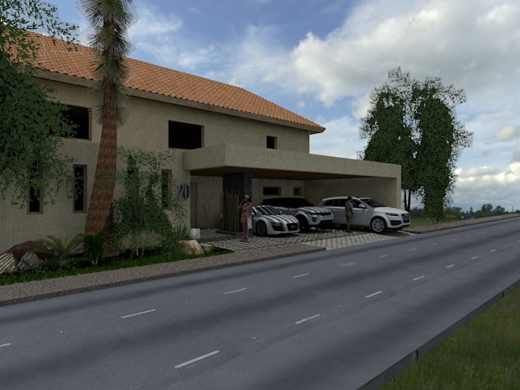 Moderne Häuser von Miravela Design Modern