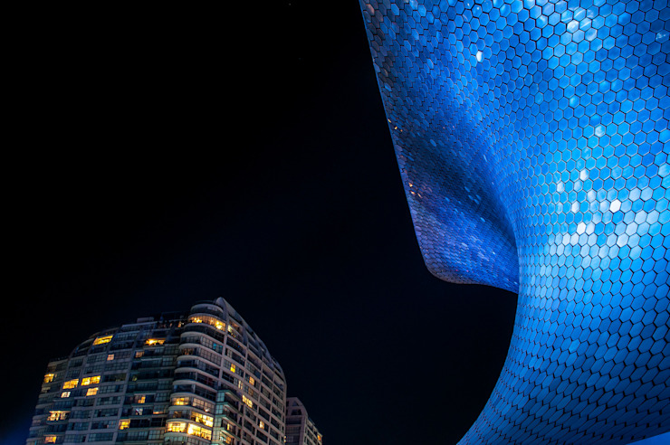 Mambo agencia creativa Museums Metal Blue