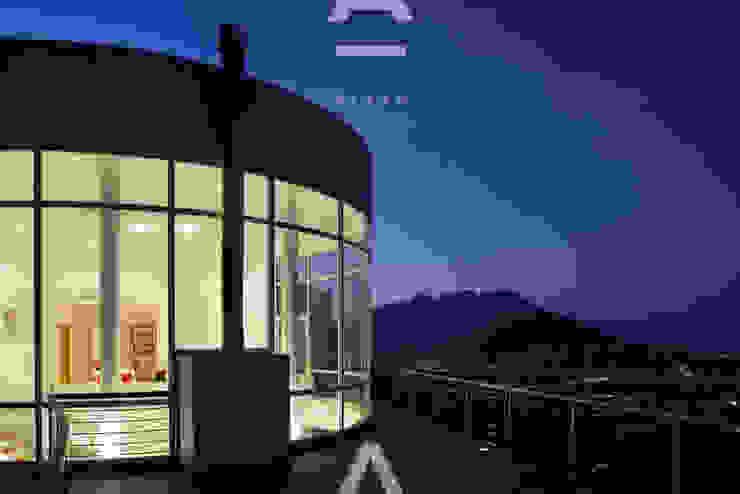 Teocalli Casas modernas de Álzar Moderno