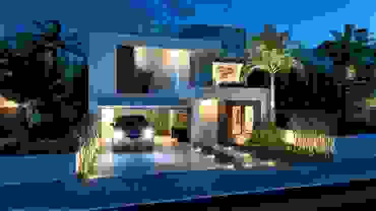 Minimalist house by daniel villela arquitetura Minimalist