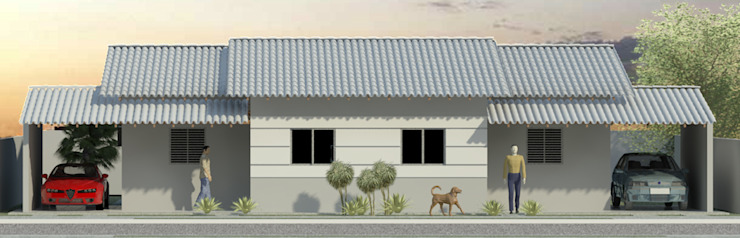 Casas geminadas Appoint Arquitetura e Engenharia