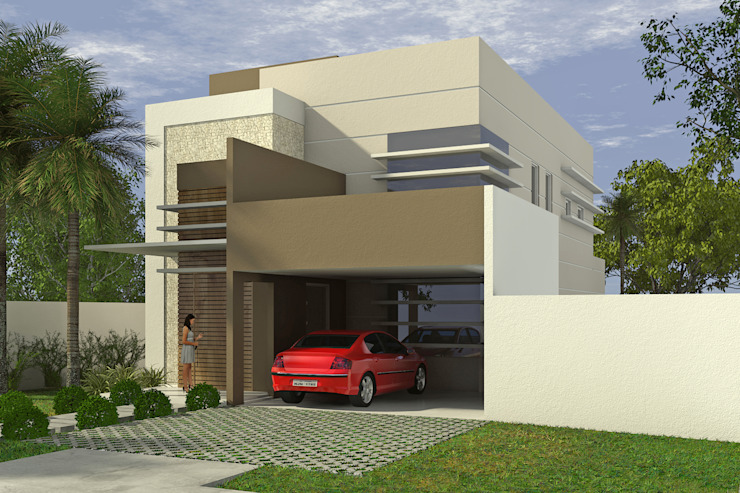 Fachada frontal Appoint Arquitetura e Engenharia