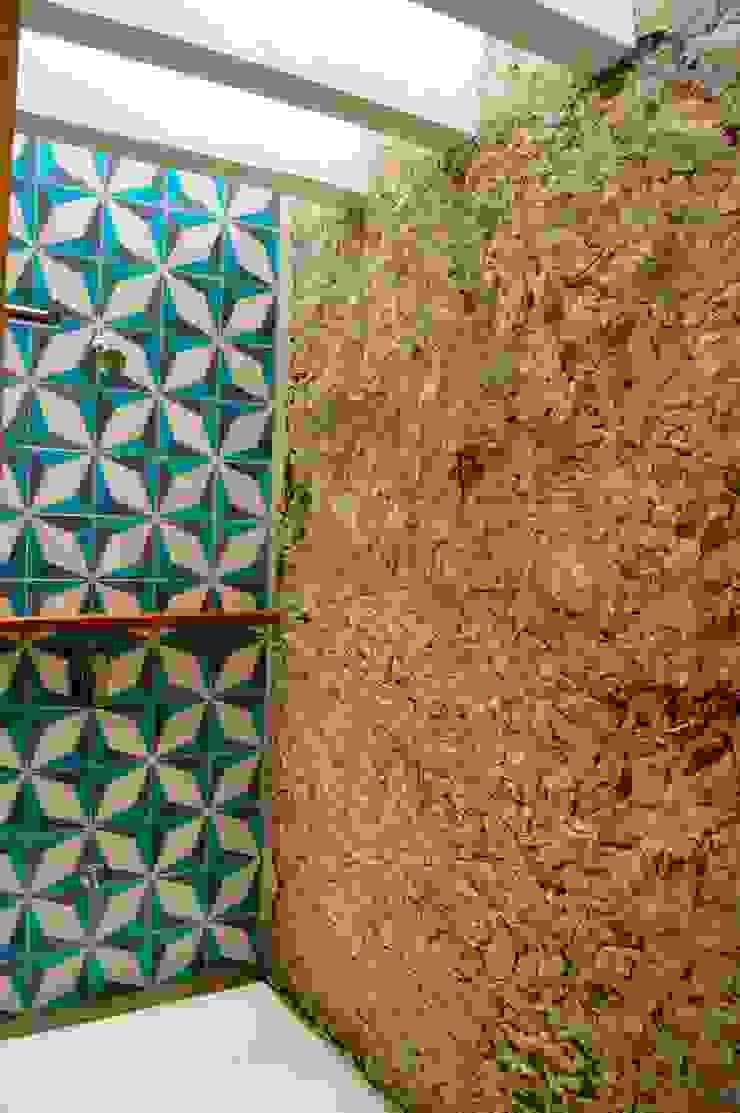 Regadera Recámara Principal Quinto Distrito Arquitectura Baños eclécticos Piedra Azul