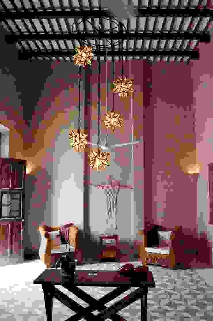 Sala Quinto Distrito Arquitectura Salones eclécticos Azulejos Beige