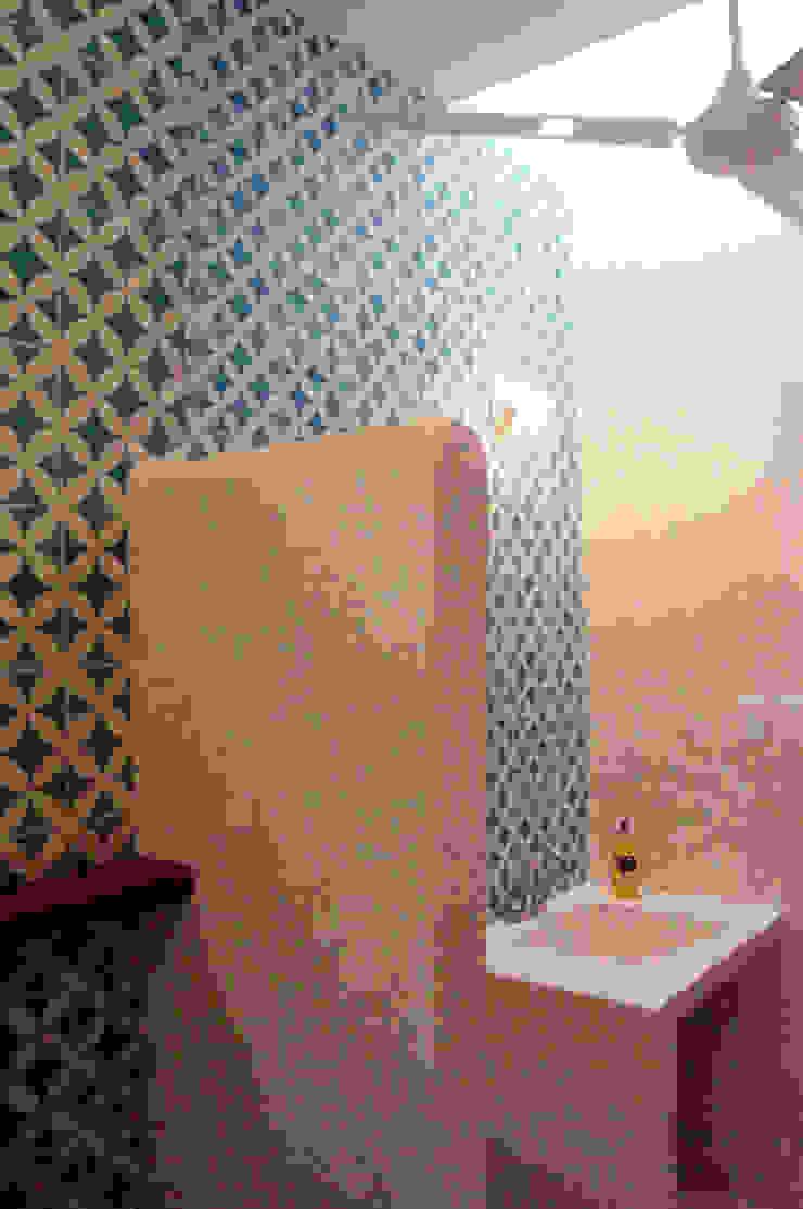 Baño de Recámara Quinto Distrito Arquitectura Baños eclécticos Azulejos Azul