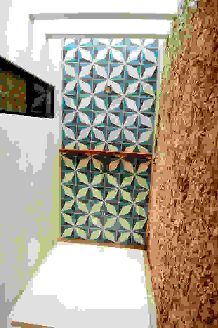 Regadera de recámara principal Quinto Distrito Arquitectura Baños eclécticos Piedra Azul