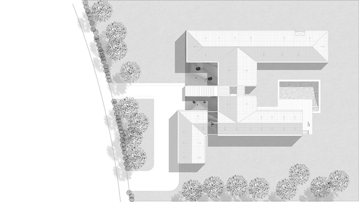 CASA ST Casas estilo moderno: ideas, arquitectura e imágenes de NEF Arq. Moderno