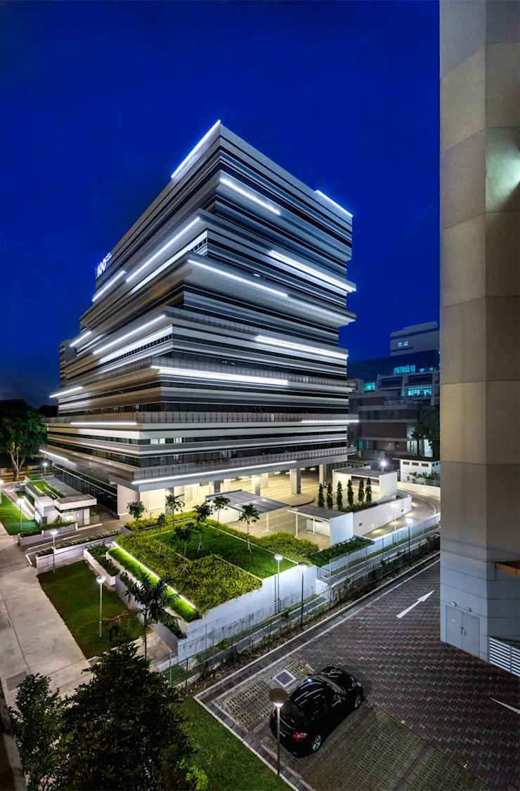 100PP Modern office buildings by MinistryofDesign Modern