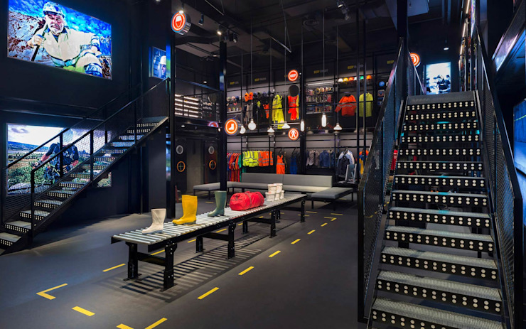 Durasafe Retail Gallery Modern offices & stores by MinistryofDesign Modern