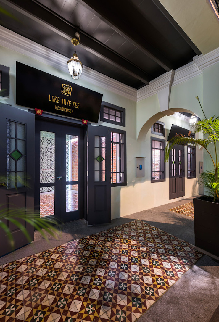 Loke Thye Kee Residences Asian style hotels by MinistryofDesign Asian