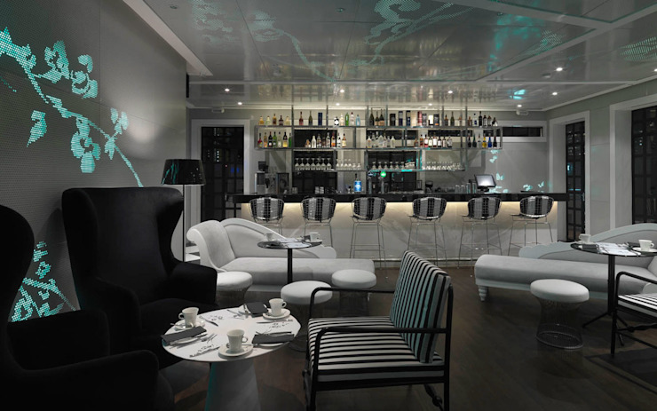 The Club Hotel Modern hotels by MinistryofDesign Modern