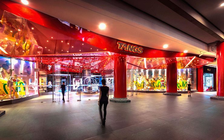 Tangs Flagship Store by MinistryofDesign Modern