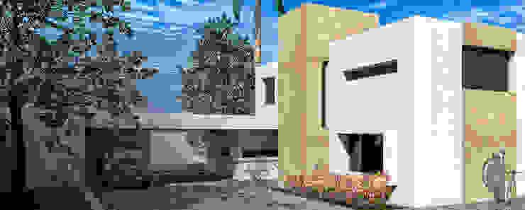 Fachada Casas modernas: Ideas, imágenes y decoración de Juan Pablo Muttoni Moderno
