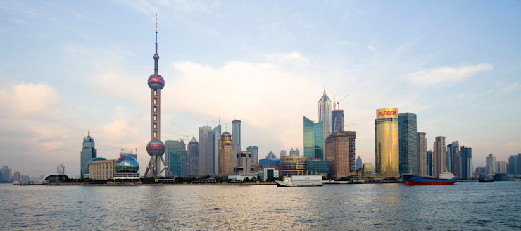 Shanghai Cityscape by Architecture by Aedas