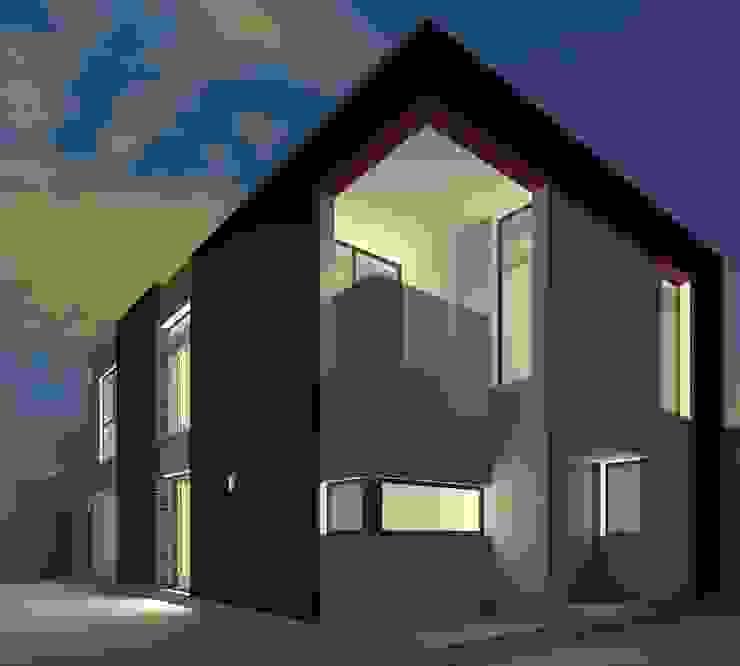 ALternativa 2 desde fondo. Casas modernas: Ideas, imágenes y decoración de Juan Pablo Muttoni Moderno