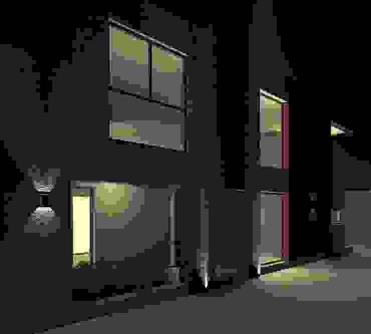 Alternativa 3 desde portón de ingreso. Casas modernas: Ideas, imágenes y decoración de Juan Pablo Muttoni Moderno