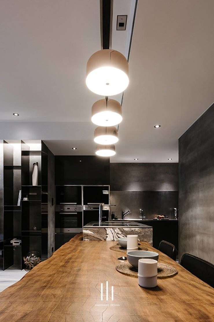台北西湖-住宅案 根據 山巷室內設計 現代風