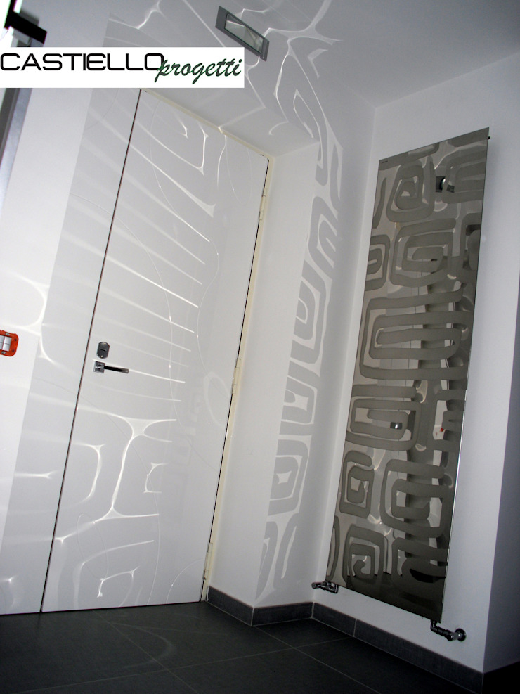 CASTIELLOproject Couloir, entrée, escaliers modernes