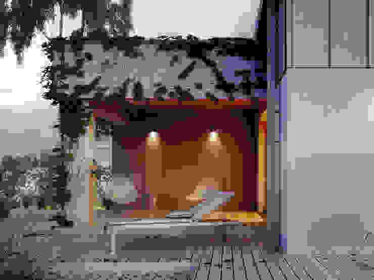 Terrace by Biuro Projektów MTM Styl - domywstylu.pl, Modern