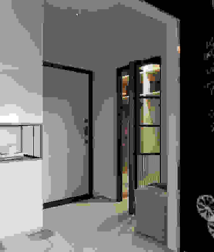 Z E T W I X Scandinavian style corridor, hallway& stairs