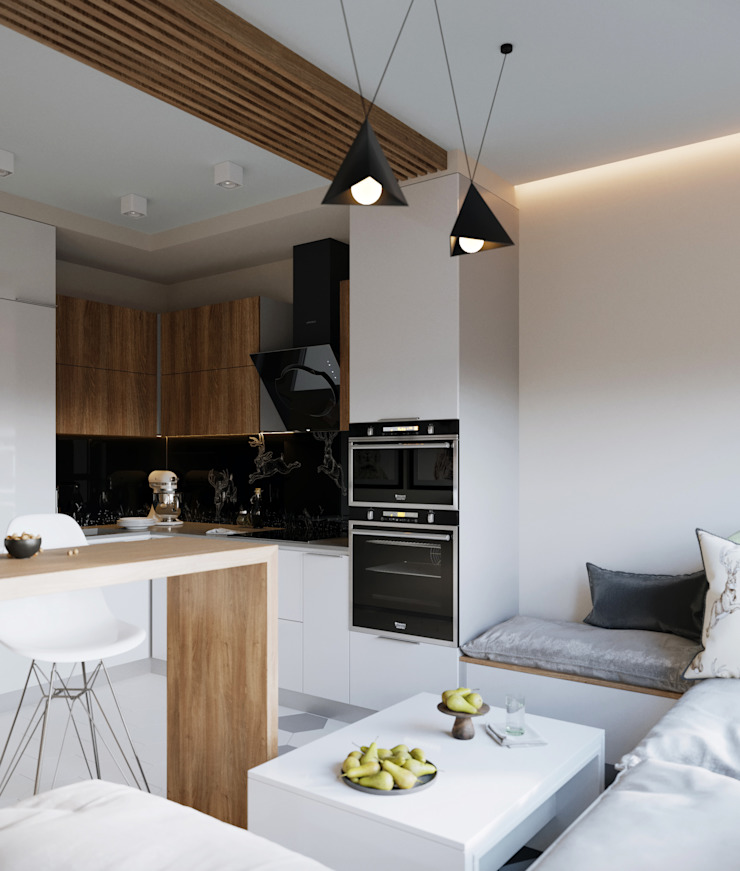 Z E T W I X Scandinavian style kitchen