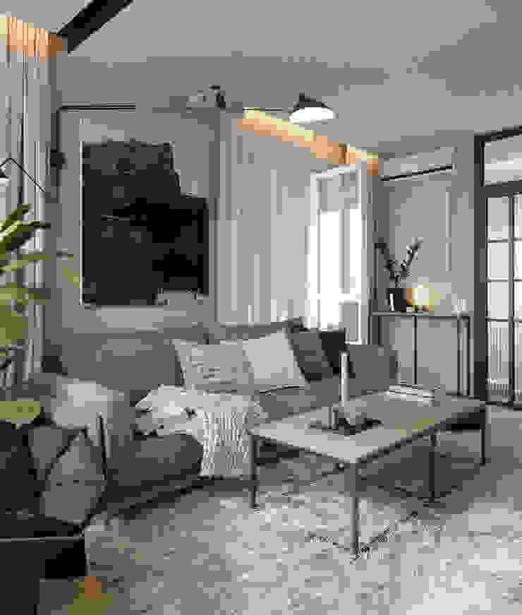 Z E T W I X Scandinavian style living room