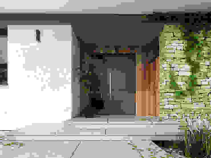 Modern windows & doors by Biuro Projektów MTM Styl - domywstylu.pl Modern