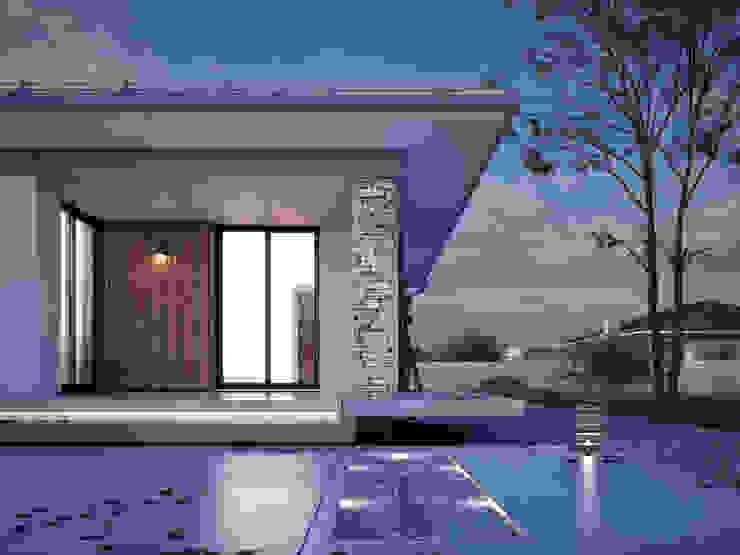 Modern houses by Biuro Projektów MTM Styl - domywstylu.pl Modern