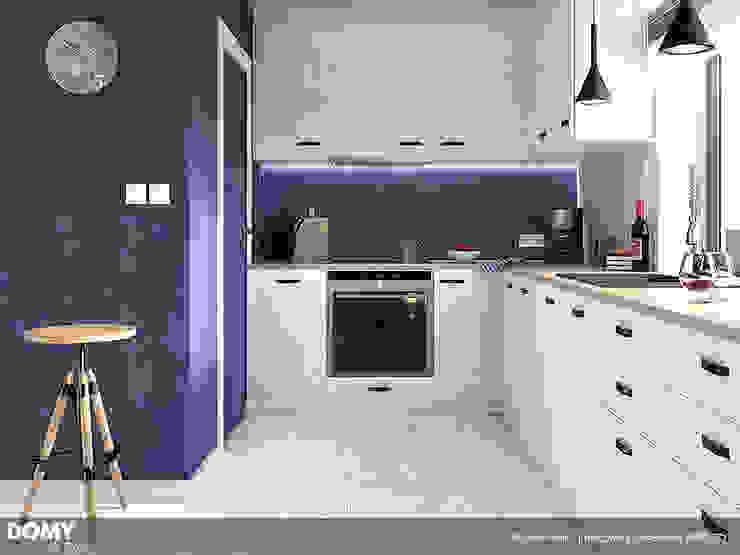 Кухня в стиле модерн от Biuro Projektów MTM Styl - domywstylu.pl Модерн