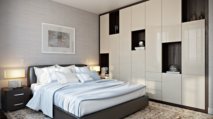 Bedroom Modern style bedroom by Hampstead Design Hub Modern