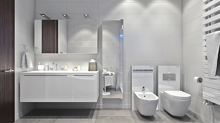 Bathroom Modern bathroom by Hampstead Design Hub Modern