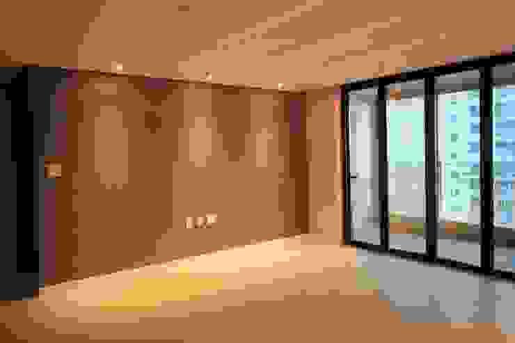 일산 가좌마을 벽산블루밍 모던스타일 거실 by 디자인란 모던