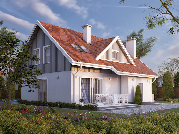 Casas  por Biuro Projektów MTM Styl - domywstylu.pl