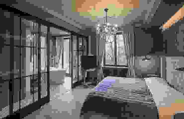 Bedroom Hampstead Design Hub Industrial style bedroom Grey