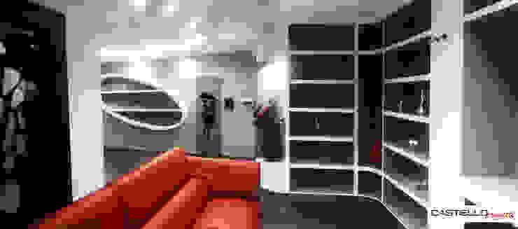CASTIELLOproject Salle multimédia moderne