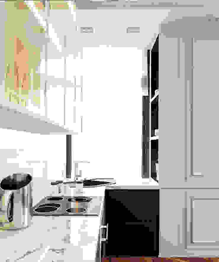 Cozinhas ecléticas por IK-architects Eclético