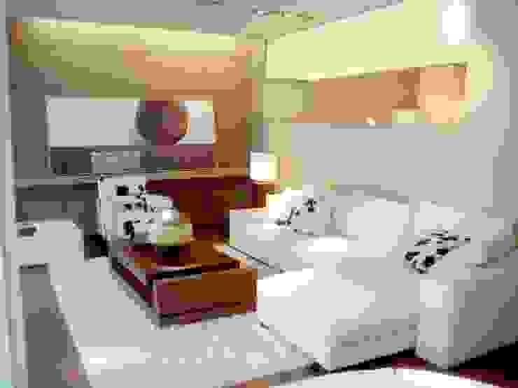 حديث  تنفيذ Muebles y Diseños Modernos, حداثي مواد مُصنعة Brown