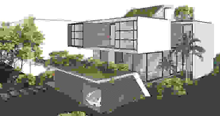 Modern Houses by NATALIA BARTOLOMEO ARQUITETURA | DESIGN STUDIO Modern Wood Wood effect