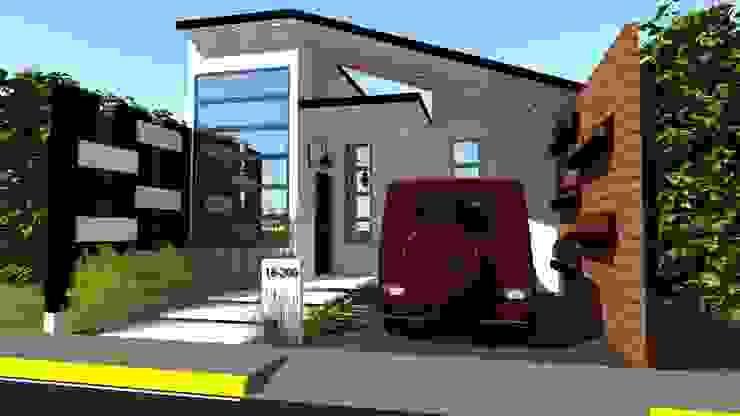 Vivienda Unifamiliar Milagro Casas modernas de N.A. ARQUITECTURA Moderno