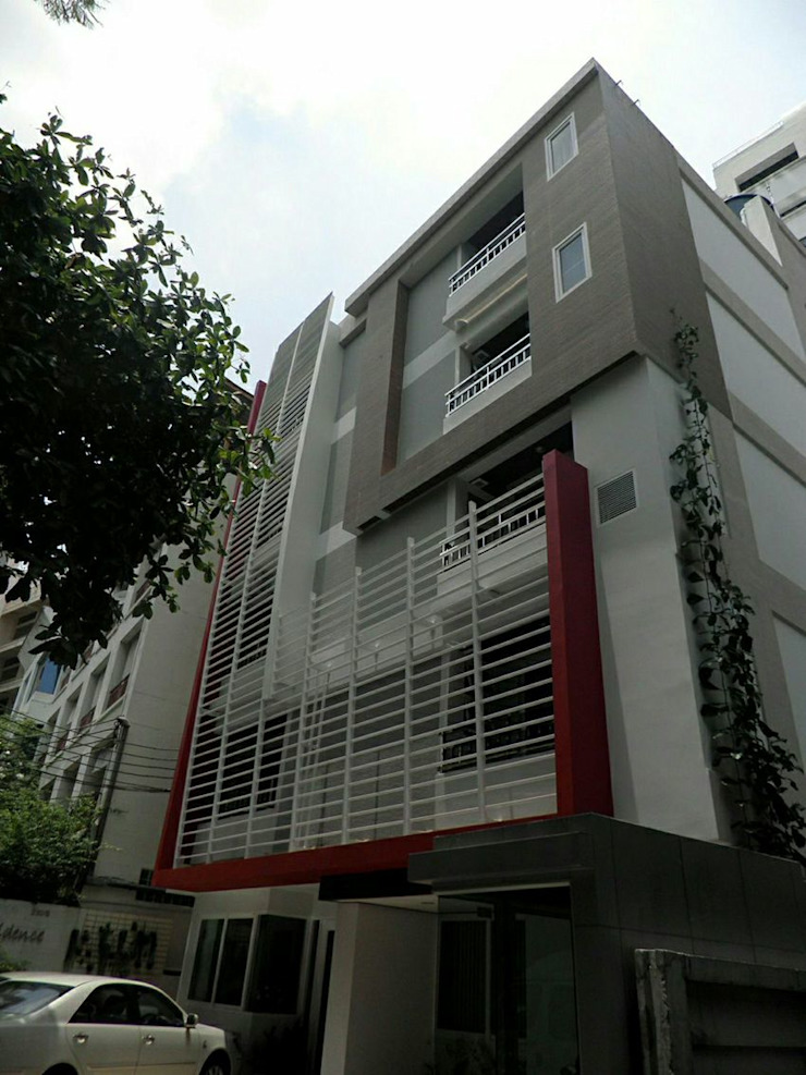 Apartment @ สุขุมวิท 22 โดย SDofA Architect โมเดิร์น