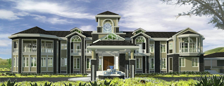 House @ ปากช่อง โดย SDofA Architect โคโลเนียล