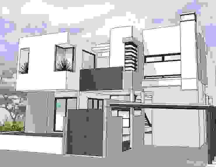 House @ ประชาอุทิศ โดย SDofA Architect โมเดิร์น