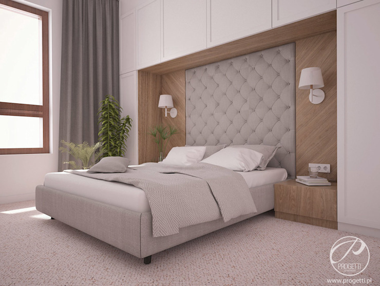 Modern style bedroom by Progetti Architektura Modern