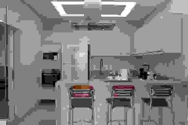 Kitchen by Arquiteta Bianca Monteiro,