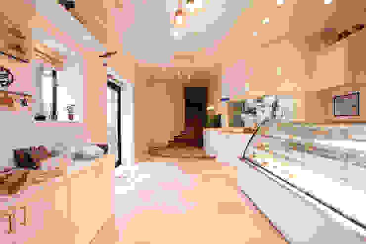 株式会社ハウジングアーキテクト建築設計事務所 辦公空間與店舖 大理石 White