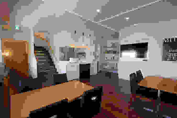 株式会社ハウジングアーキテクト建築設計事務所 辦公空間與店舖 木頭 Wood effect