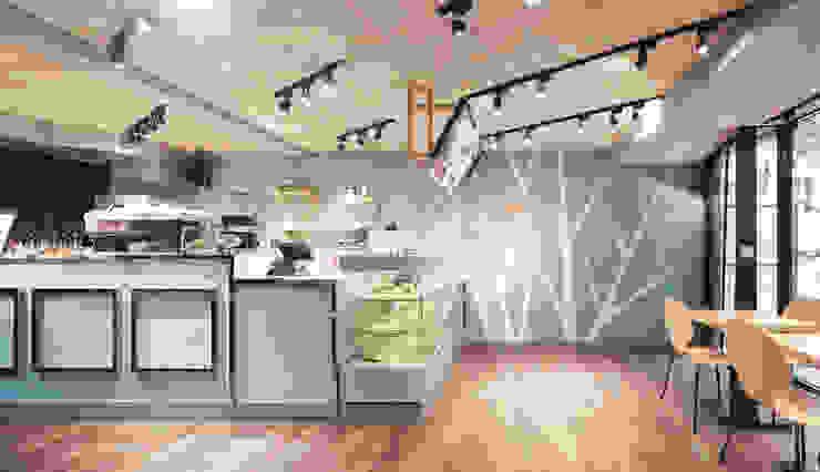 BooGoo Cafe'_「巢」。 根據 有偶設計 YOO Design 現代風