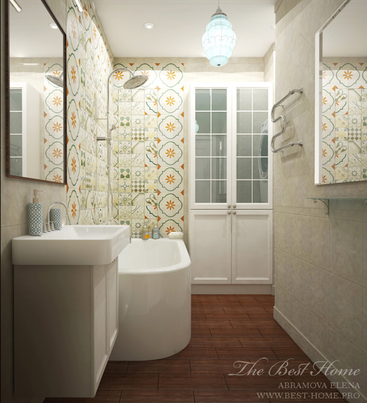 Best Home Country style bathroom Grey
