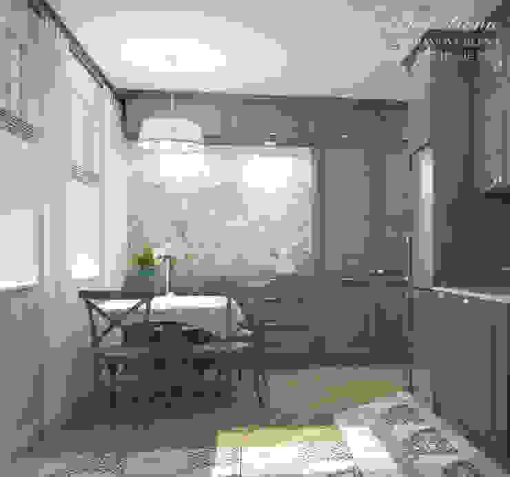 Best Home Scandinavian style kitchen Blue
